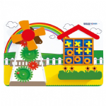 Childrens Wallboard Gears and Shapes